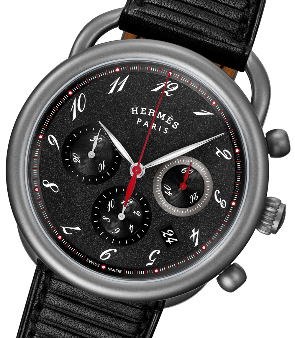 Hermès Arceau Chrono Titane Watch