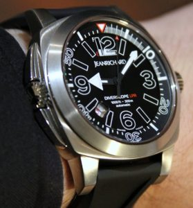 JeanRichard Diverscope LPR Watch Hands-On Hands-On