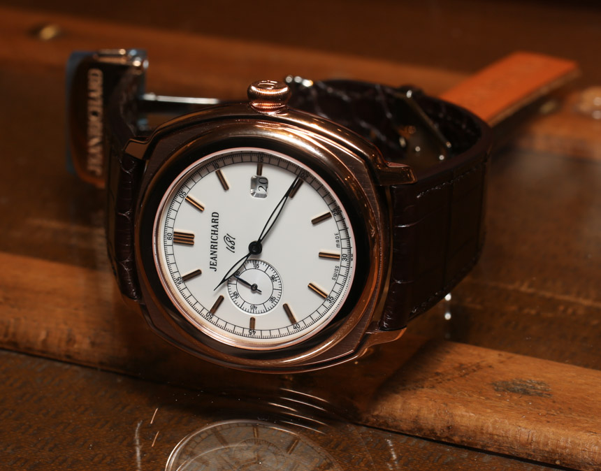 JeanRichard 1681 Small Second Gold Watch Hands-On