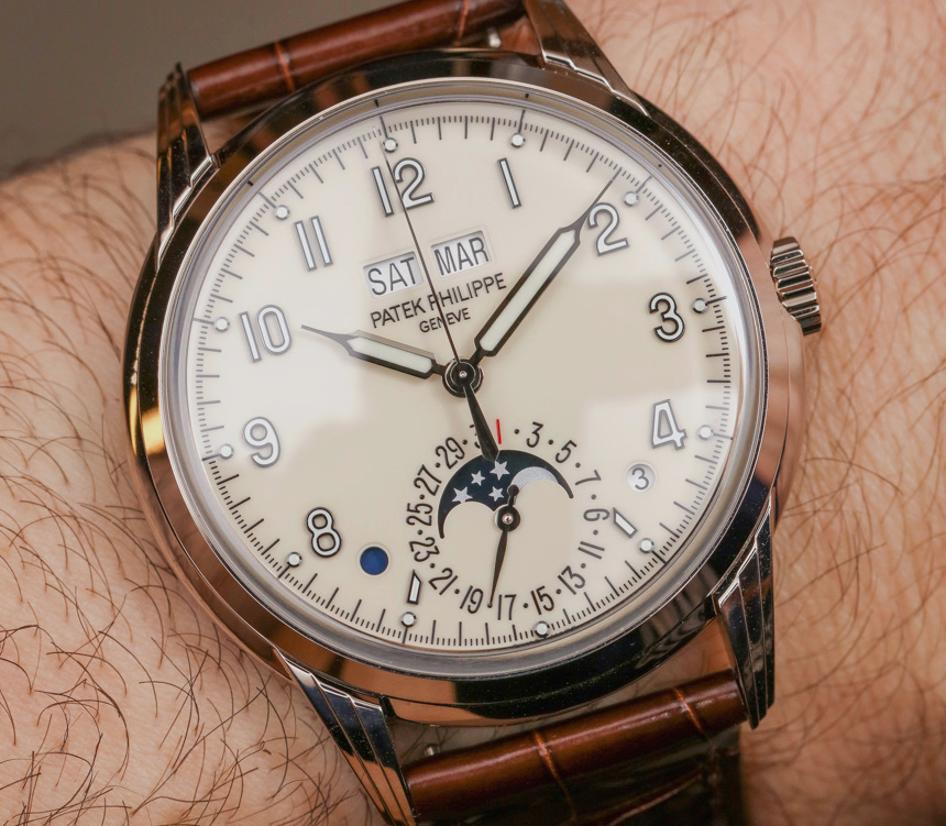 Patek Philippe Perpetual Calendar Ref. 5320G Watch Hands-On