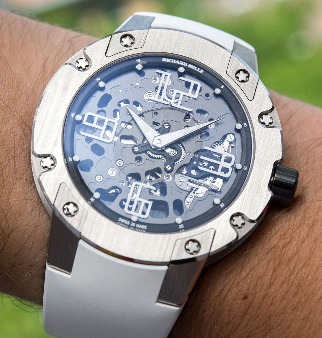 Richard Mille RM033 In White Gold Watch Review
