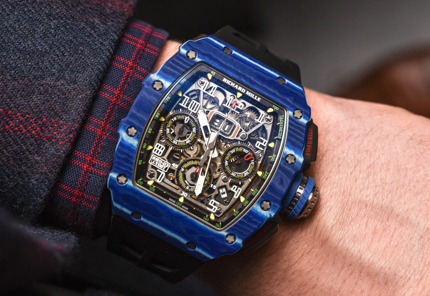 Richard Mille RM 11-03 Jean Todt 50th Anniversary Watch Hands-On