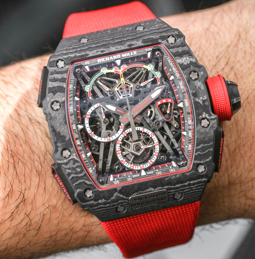 Richard Mille RM 50-03 McLaren F1 Record-Setting Lightweight Watch For $1,000,000 Hands-On