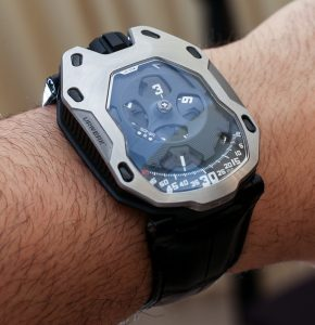 URWERK UR-105M Iron & Dark Knight Watches Hands-On  Hands-On