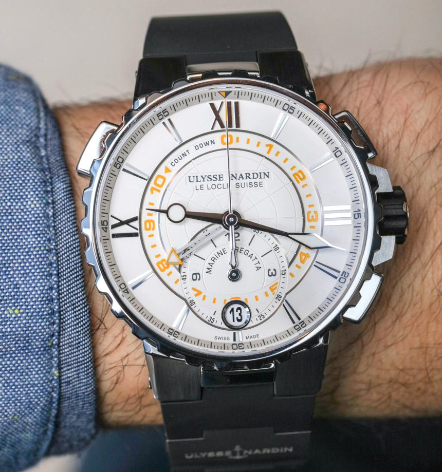 Ulysse Nardin Marine Regatta Watch Hands-On