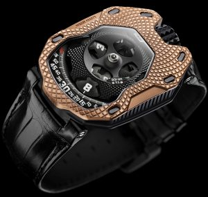 Urwerk UR-105 'Raging Gold' Watch Watch Releases