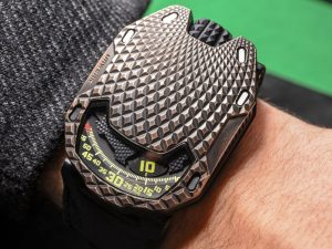 Urwerk UR-105 T-Rex Watch Hands-On Hands-On