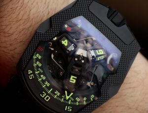 Urwerk UR-210 CP 'Clou De Paris' Watch Hands-On Hands-On