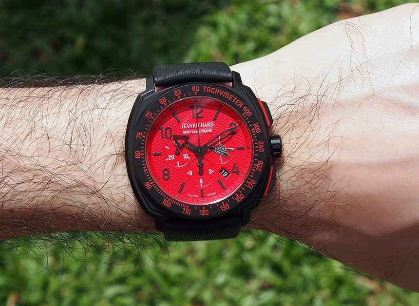JeanRichard Arsenal Aeroscope Limited Edition Watch Review Wrist Time Reviews