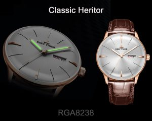 Take A Look At The Classic Heritor Elegant And Stylish Men's Classic Watches Perfect For The New Season RGA8238