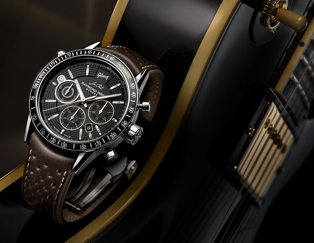 Raymond Weil Freelancer Chronograph Gibson Les Paul Watch