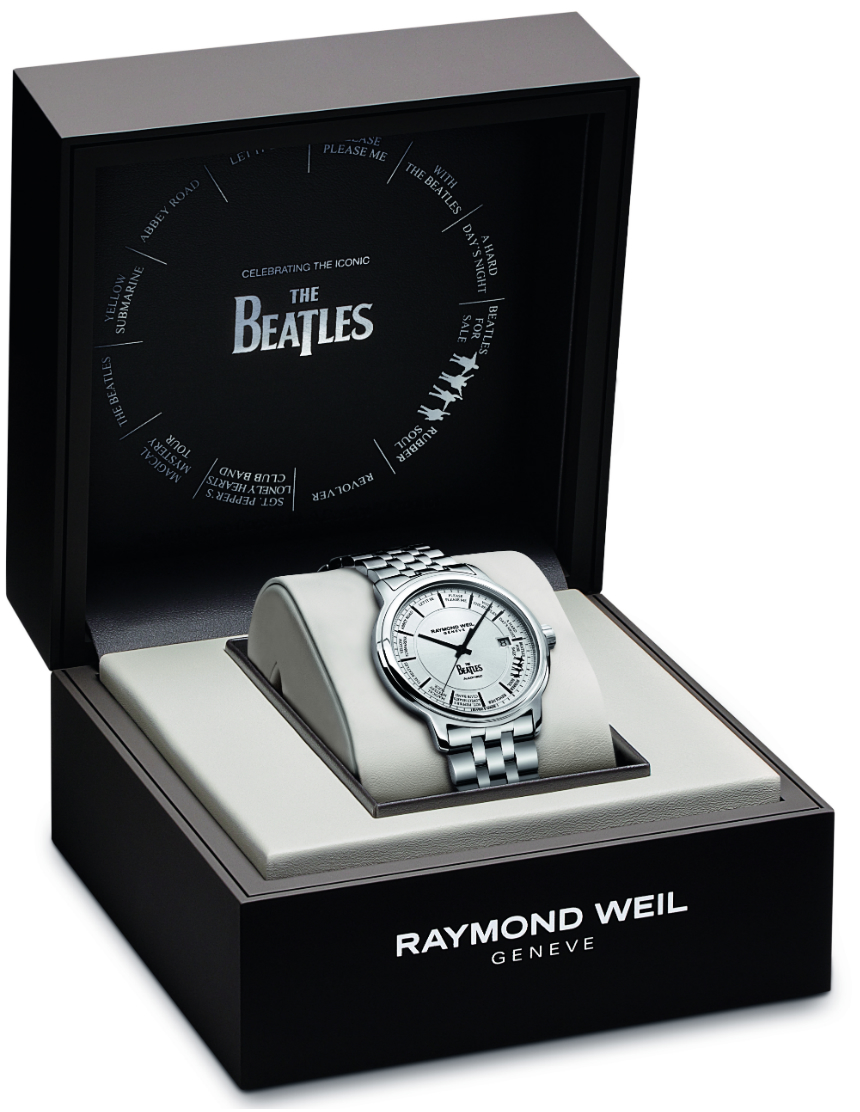 Raymond Weil Maestro Beatles Limited Edition Watch Watch Releases