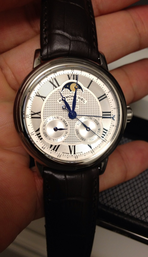 Raymond Weil Maestro Automatic Moon Phase Watch Review