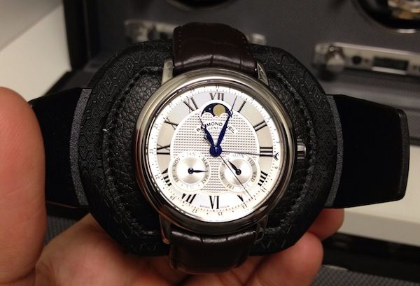 Raymond Weil Maestro Automatic Moon Phase Watch Review Wrist Time Reviews