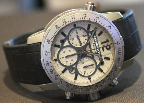 Raymond Weil Nabucco Chronograph Watches Hands-On
