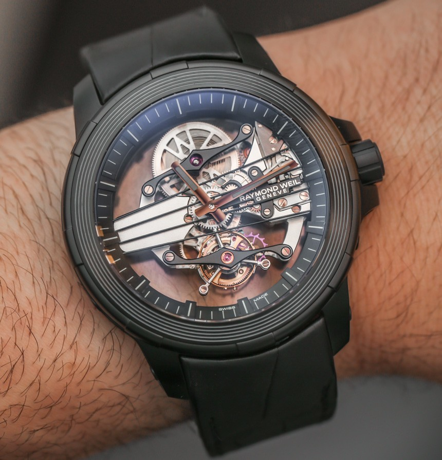 Raymond Weil Nabucco Cello Tourbillon Watch Hands-On