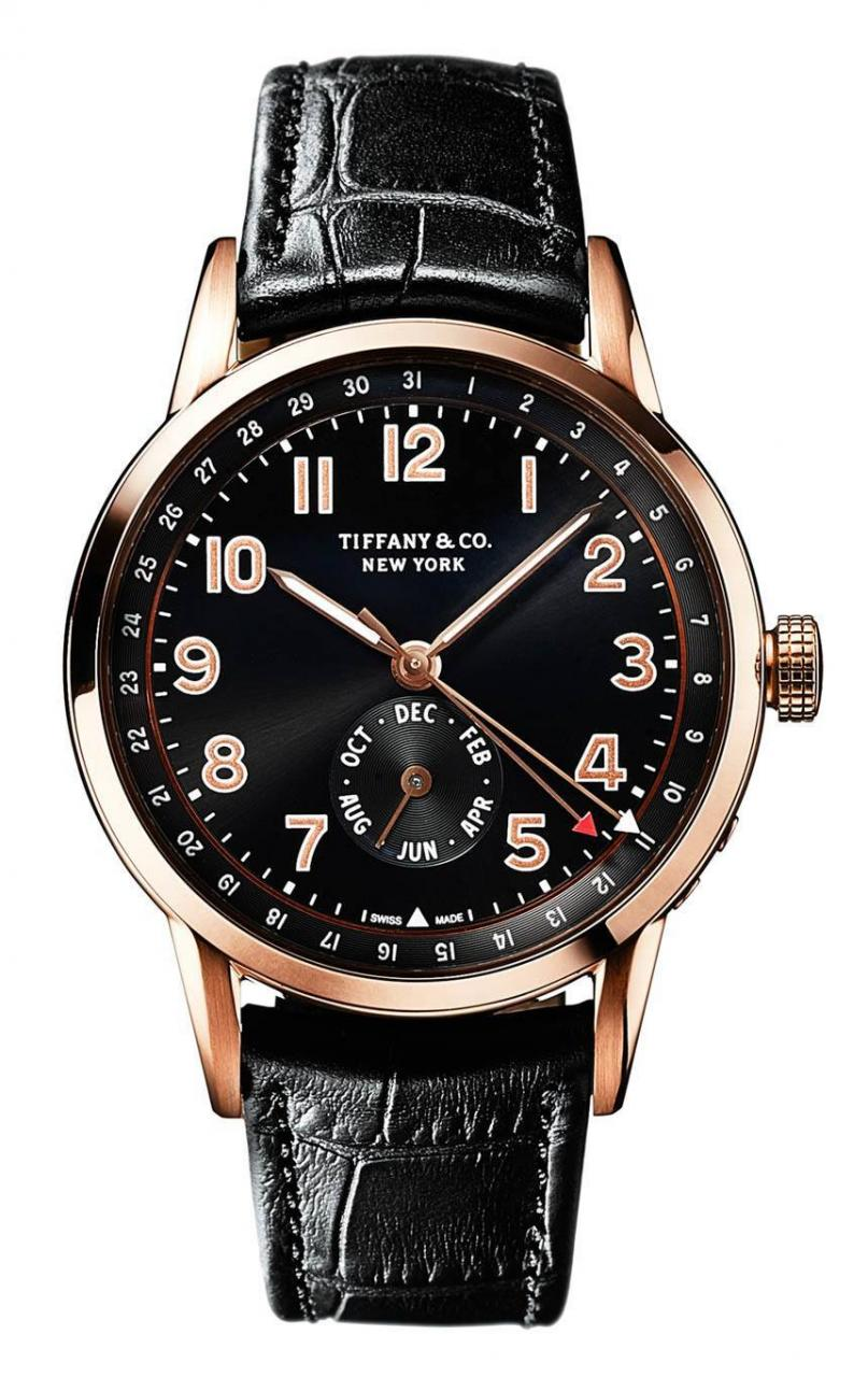 Tiffany & Co. CT60 Chronograph & Annual Calendar Watches In New Gold Options For 2016 Watch Releases