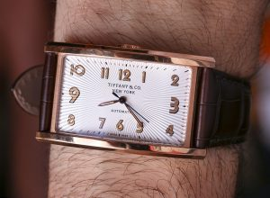 Tiffany & Co. East West Automatic Watch In Rose Gold Review Wrist Time Reviews
