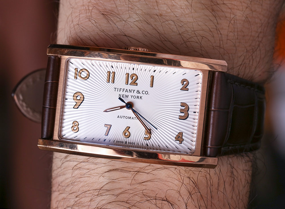 Tiffany & Co.. East West Automatic Watch In Rose Gold Review