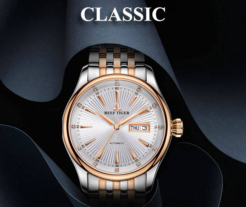 Get A Timeless Look And Dependable Functionality From Our Line Of Reef Tiger Classic Watches RGA8232
