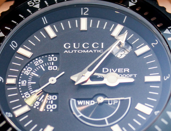 Girard-Perregaux For Gucci: Dive XL Watch Hands-On Hands-On