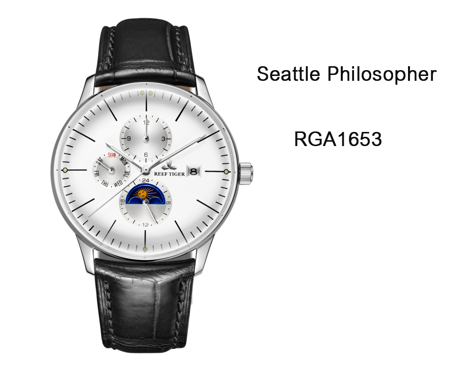 Detailed Review With The Elegant Seattle Philosopher Men's Watch RGA1653