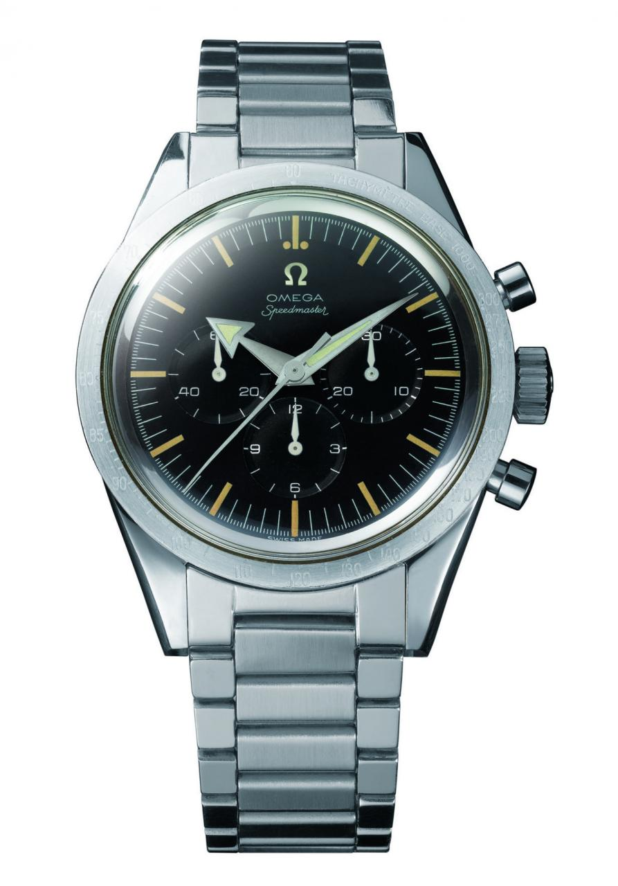 Changing faces of the Omega Speedmaster