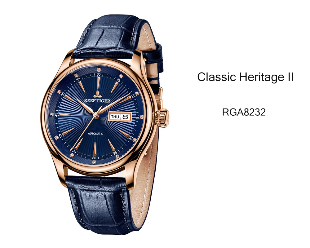 Discover The Classic Heritage II A Gentleman's Watch Inspired And Created With Classicism, Elegance, And Excellence RGA8232
