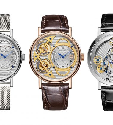We Take A Closer Look At Reef Tiger Artist Series Watches