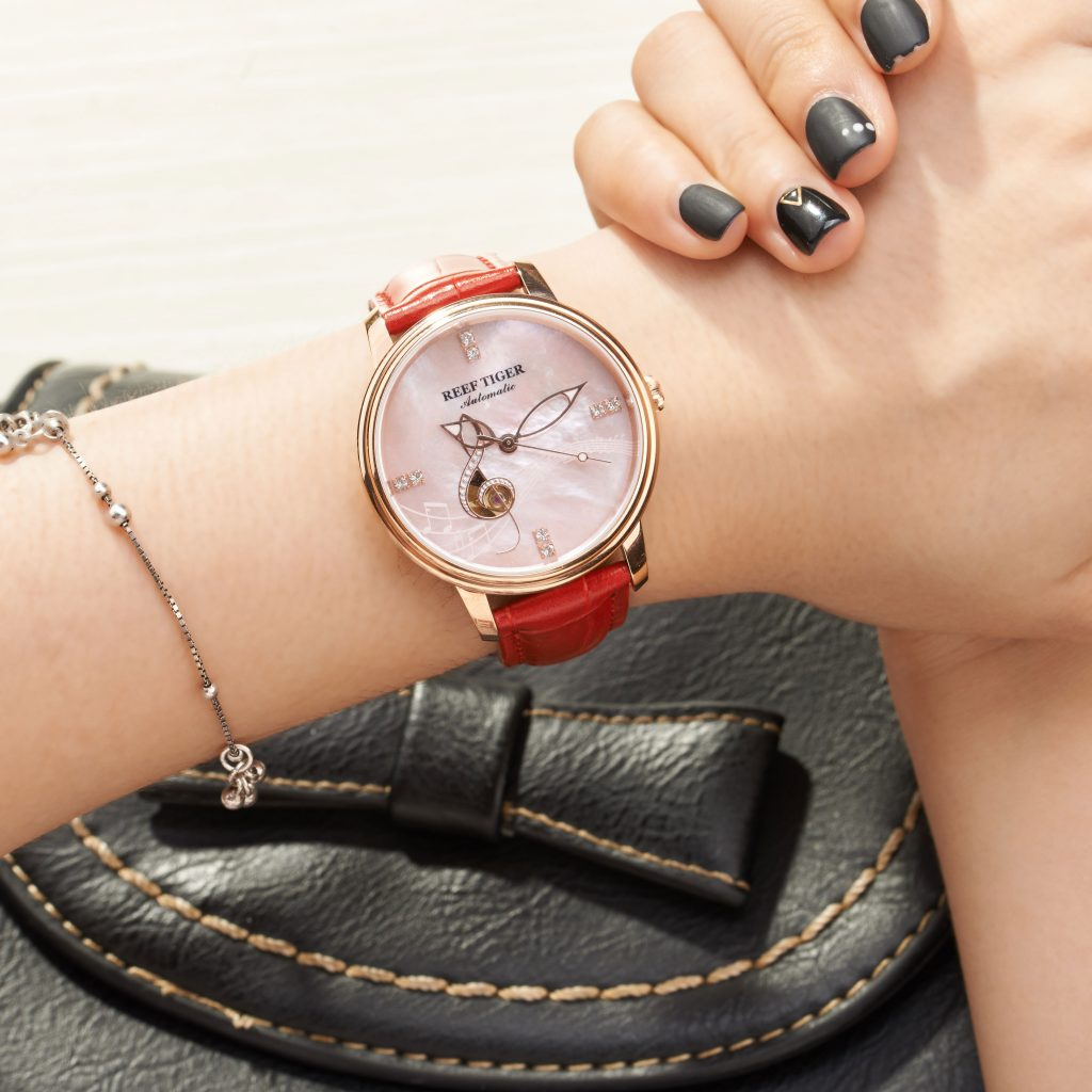 Reef Tiger Presented A New Version Of Its Love Melody Automatic Ladies Watch RGA1582
