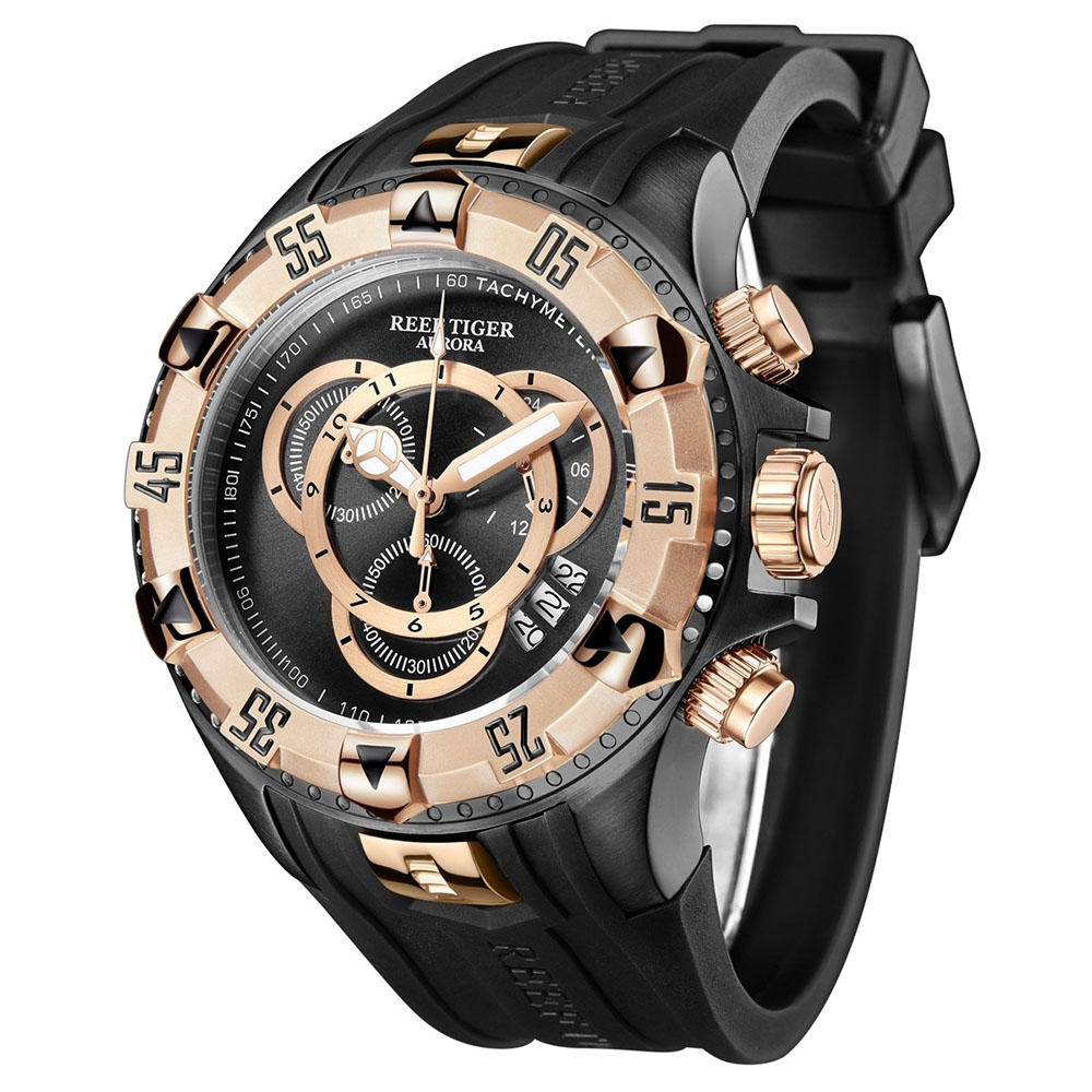 Modern And Sporty Designs With High-Quality Aurora Hercules Men's Watches