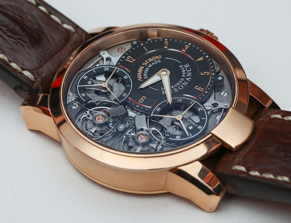 Armin Strom Mirrored Force Resonance High End Watches Hands-On