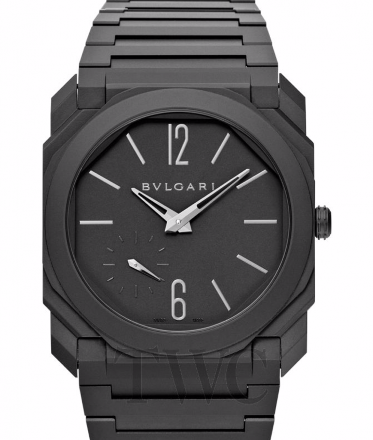 Bulgari Finissimo Automatic in Black Ceramic