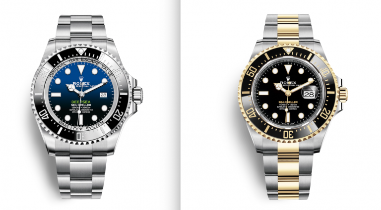 Subtle Differences Between the Rolex Sea-Dweller and Rolex Deepsea Watches