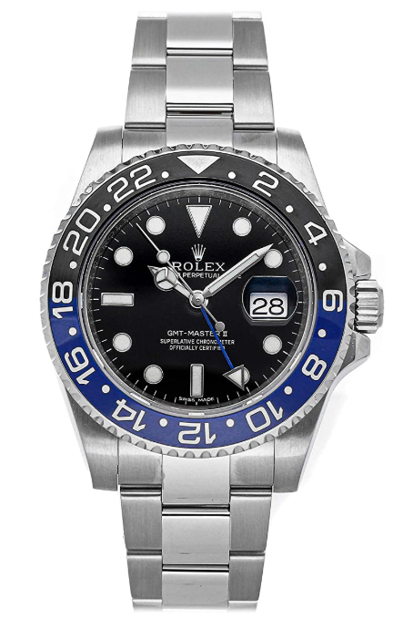 Why is the new color of Rolex GMT Master II?