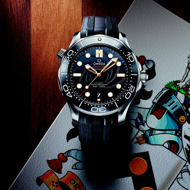 The latest Omega Seamaster series, designed for diehard fans of James Bond